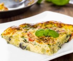Slow Cooker Spinach and Cheese Frittata - Get Crocked Slow Cooker Recipes from Jenn Bare for Busy Families Vegetable Frittata, Spinach Frittata, Spinach And Cheese, Quiche, Frittata Muffins, Frozen Spinach, Goat Cheese, Slow Cooker Recipes, Crockpot Recipes