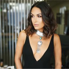 Beautiful Brie Bella Hairstyles for Women Inspiration Brie Bella Wwe, Nikki And Brie Bella, Celebrity Look, Hair Today, Hair Dos, Balayage Hair, Bellisima, New Hair, Hair Inspiration