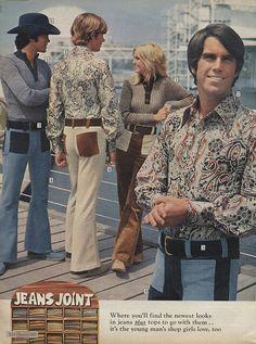70s men's jeans