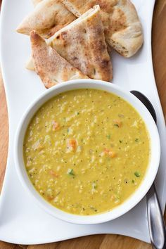 Fragrant Curried Lentil Soup, and Being a Simmering Pot of Something Delicious