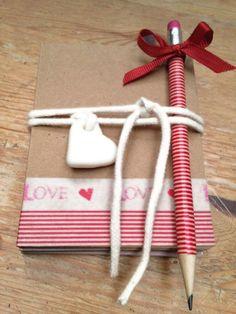 Set para hacer cartas de amor. Washitape