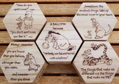 The full set of Littles Boxes with Pooh bear and friends Wood Burning Tips, Wood Burning Crafts, Wood Burning Patterns, Wood Crafts, Diy And Crafts, Wooden Memory Box, Art Addiction, Pooh Bear, Eeyore