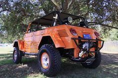 VW Thing 4x4. VW and off road! Can it get any better?...I say not