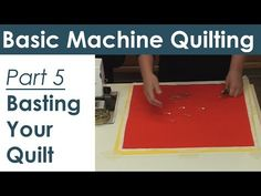 Machine Quilting The basics & beyond - YouTube
