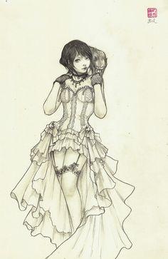 Teryssa - Original Drawing