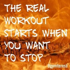 Love your workout!