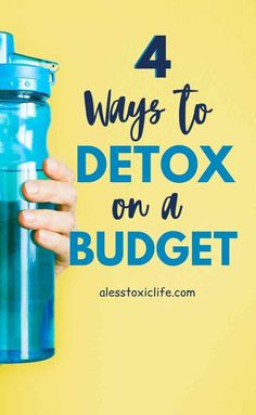 Learn 4 ways you can detox on a budget. Every person should start this way. Beginner detox and cleanse. Wellness Tips, Health And Wellness, Quick Detox, Nutritional Cleansing, Green Living Tips, Body Cleanse, Sugar Detox, Lose Weight Quick, Natural Beauty Tips