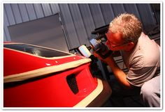 Ferrari F40: 60 Hour Restorative Detail by Todd Cooperider and Craig Reed