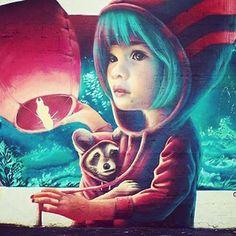 """Linus Lundin Yash #photo #urbanart #graffiti #streetart #murales"" Photo taken by @streetcnina on Instagram."