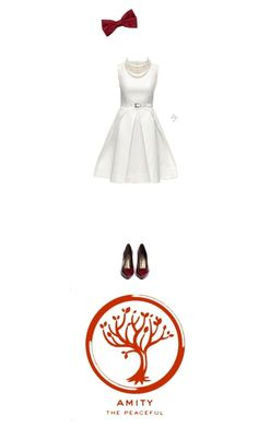 """""""Halloween: Amity (Divergent)"""" by missa-watson on Polyvore featuring Lattori, Stuart Weitzman, Le Chateau and Christian Dior"""