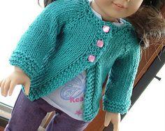 Ravelry: shalderman's Doll Cardigans