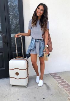 Easy travel outfit for a trip with the girlies to Charleston  sooooooo stinking excited  http://liketk.it/2uzF4 @liketoknow.it #liketkit #LTKunder100 #ltktravel
