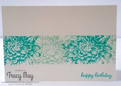 LOVE the flower stamps! Might need to add them to my collection :) --The Gift unveiled