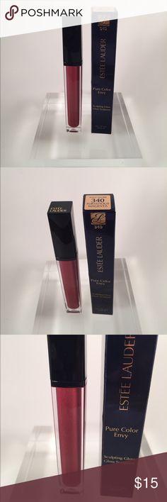 New!! Estée Lauder lip gloss Flirtatious Magenta in Pure Color Envy Gloss Estee Lauder Makeup Lip Balm & Gloss