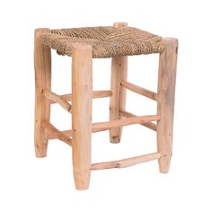 A perfect blend of rustic chic and artisan-crafted charm, the Souk Haggler Stool makes for a charming addition to any kitchen setting. Hand-carved cedar wood supports a wicker seat, ideal for breakfast...  Find the Souk Haggler Stool, as seen in the Handmade in Morocco Collection at http://dotandbo.com/collections/handmade-in-morocco?utm_source=pinterest&utm_medium=organic&db_sku=100172