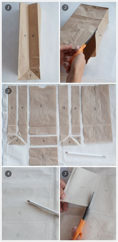 DIY lunch bag (but I will try it with table cloth fabric instead of canvas)
