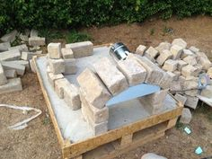 How to Make a Homemade Pizza Oven: 8 Steps (with Pictures) Oven Diy, Diy Pizza Oven, Pizza Oven Outdoor, Pizza Ovens, Small Pizza, Four A Pizza, Wood Fired Oven, Wood Fired Pizza, Outdoor Kitchen Bars