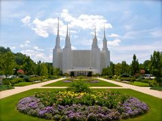 Washington DC LDS Temple in Kensington, Maryland. I served in the visitor center for months and months. Miss this place. LDS are also known as Mormons or The Church Of Jesus Christ of Latter-day Saints