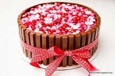 Cute Valentine's Day Food Ideas  Divino! Se acerca San Valentín!! Ideas para decorar en www.larueda.com