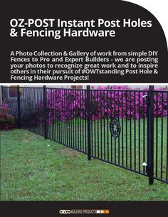 how to fix oz fence post