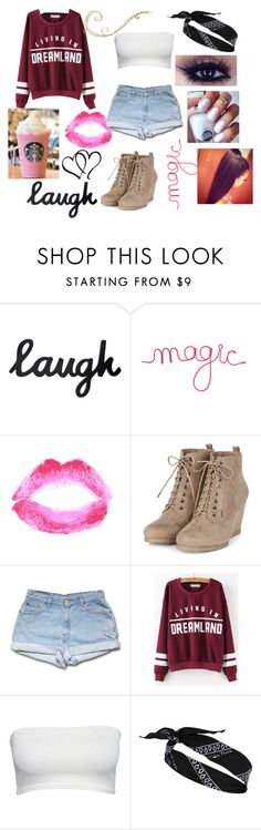 """""""Untitled #39"""" by bethanymotaisqueen84 on Polyvore featuring Topshop and River Island"""