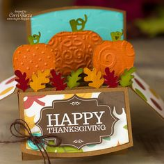 Pumpkin Box Card