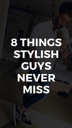 8 Things All Stylish Guys Secretly Do - Men's Fashion Secrets #mensfashion #fashiontips #styletips