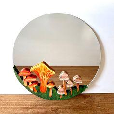 Mirror Painting, Mirror Wall Art, Blue Morpho, Butterfly Wall Art, Boho Decor, Art Projects, Stuffed Mushrooms, Room Ideas, Arts And Crafts