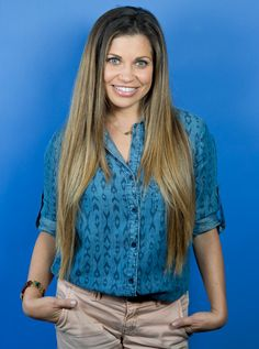 Exclusive! Danielle Fishel Visited InStyle and Spilled the Details on Her Favorite Topanga Hair Moments  #InStyle