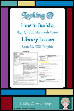 At first glance, the complexity of my FREE Library Lesson Planner can be daunting compared to other lesson plan templates. Let me take you step-by-step through each section so you'll understand what it does and why it's important. School Library Lessons, Middle School Libraries, Library Skills, Elementary Library, Elementary Schools, Library Plan, Library Lesson Plans, Free Library, Library Ideas