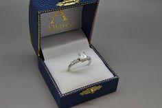 Five Stone Diamond Baguette Engagement Ring platinum (0.36ct) - Allurez.com