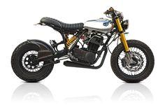 "motographite: YAMAHA SR500 STREET TRACKER ""MONO"" by Deus Ex Machina"