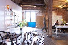 Inside Kwambio's New Beautiful Brooklyn Office - Officelovin