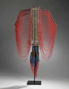 Africa | Dinka corset, Sudan.  19th century | Highlights from the Permanent collection at the World Jewellery Museum in South Korea