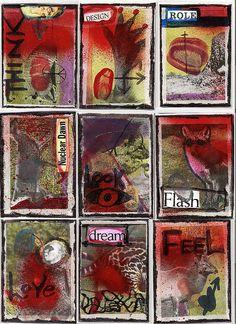 ATC CARDS, via Flickr.