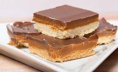 Wer Shortbread mag, wird diese Variante mit Schokolade, Karamell und Meersalz lieben. Jawohl lieben! Ein schnelles und einfaches Rezept, das herrlich schmeckt.