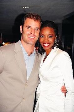 Singer Heather Headley married her college sweetheart Brian Russo.