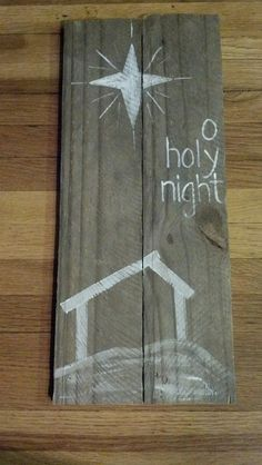 O holy night very cute and easy to make
