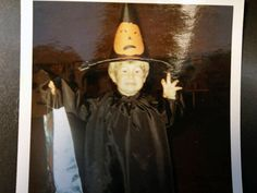 Happy Halloween! Can you guess which Food Network star is shown in this photo? #ThrowbackThursday