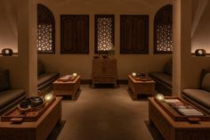 Experience holistic wellbeing and revitalisation at our spa retreat in Sharjah. Spa Lounge, Wellness Spa, Sharjah, Spa Treatments, Bait, Old Houses, Modern Architecture, Islamic, Furniture Design