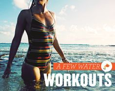 Another water workout :) - I'm looking forward to trying this, this summer