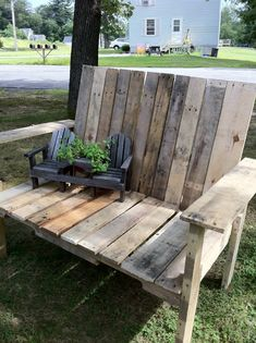 How to make a Pallet Wood Bench (tutorial)
