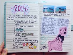 first two pages of my new journal! please don't remove the source or comment xx