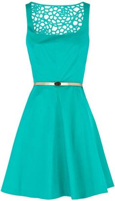Florence Skater Dress - Lyst  I love this color and design!!!