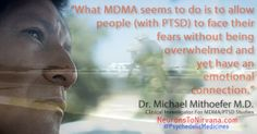 #psychedelicmedicines (MDMA) can cure PTSD.  www.Neuronstonirvana.com