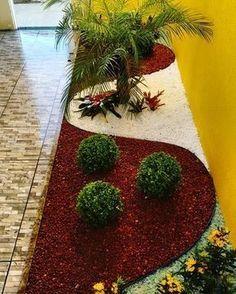 24 beautiful side yard and backyard gravel garden design ideas 21 Amazing Gardens, Beautiful Gardens, Design Jardin, Gravel Garden, Front Yard Landscaping, Landscaping Ideas, Backyard Ideas, Mulch Landscaping, Patio Ideas