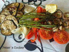 ¡Esto si que es una fiesta de sabores! Esta receta tan tan, pero que tan tan sencilla, la aprendí de mi hermana Amparo, hace ya unoscuan...