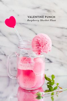 By food contributor Brittany One of my family's traditions for Valentine's dinner is to make these fun pink raspberry sherbet floats, as a kid that was really all I looked forward to and making it ...