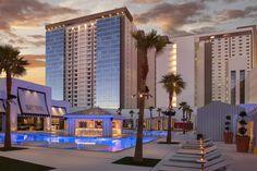 The 1,600-room SLS Las Vegas underwent a $415 million renovation to transform the Rat Pack era Sahara into the new hotel.