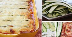 Cuketové lasagne s hovězím masem a parmezánem